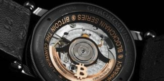 Chronoswiss Blockchain series Bitcoin watch
